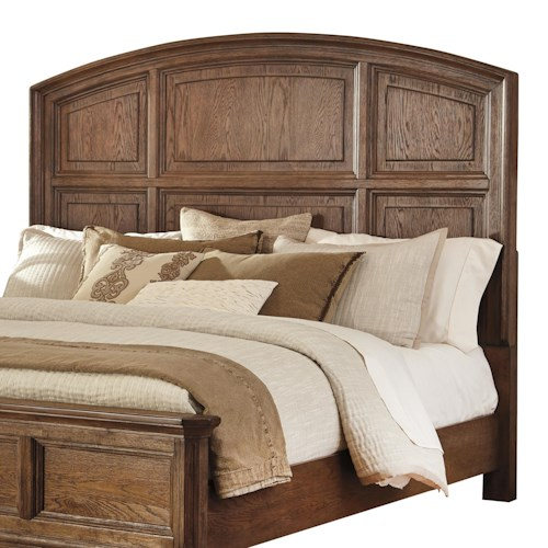 Signature Design by Ashley Maeleen King/Cal King Panel Headboard with Arched Shape