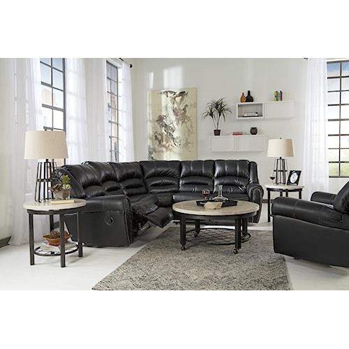 Signature Design by Ashley Manzanola Reclining Living Room Group