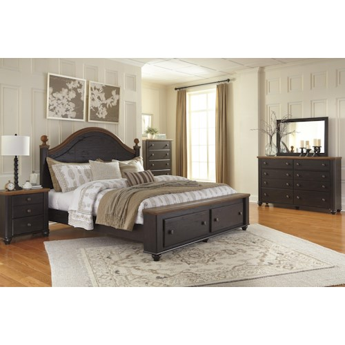 Signature Design by Ashley Maxington King Bedroom Group