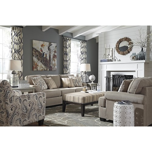 Signature Design by Ashley Melaya Stationary Living Room Group