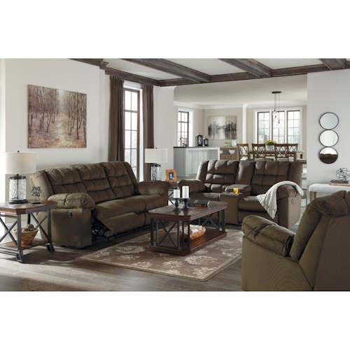 Signature Design by Ashley Mort Reclining Living Room Group