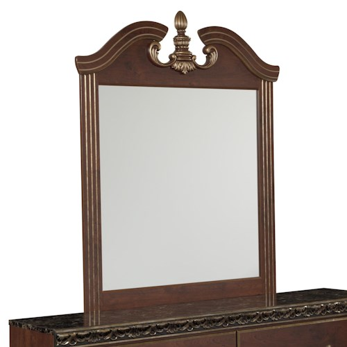 Signature Design by Ashley Naralyn Traditional Bedroom Mirror
