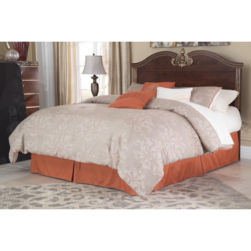 Signature Design by Ashley Naralyn Traditional Queen/Full Panel Headboard with Bonnet Top