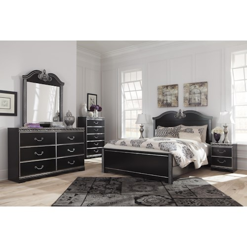 Signature Design by Ashley Navoni Queen Bedroom Group