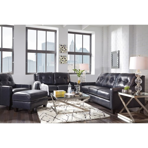 Signature Design by Ashley O'Kean Stationary Living Room Group