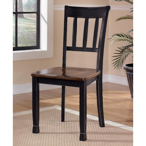 Signature Design by Ashley Owingsville Dining Room Side Chair