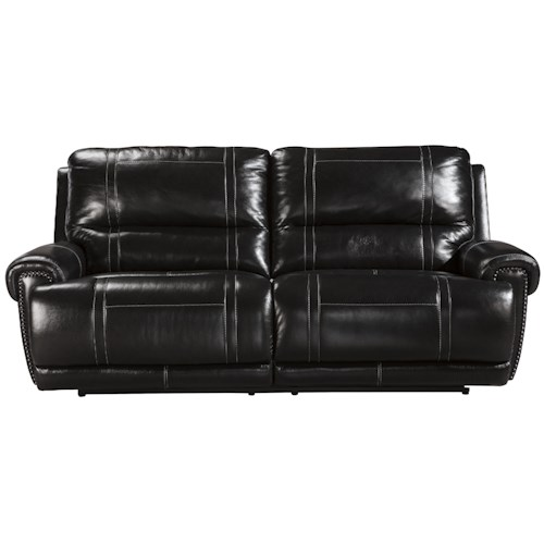 Signature Design by Ashley Paron - Antique 2 Seat Reclining Sofa