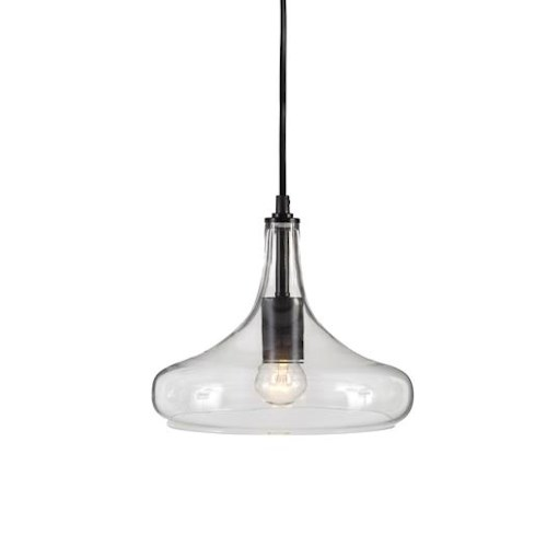 Signature Design by Ashley Pendant Lights Ianna Clear Glass Pendant Light