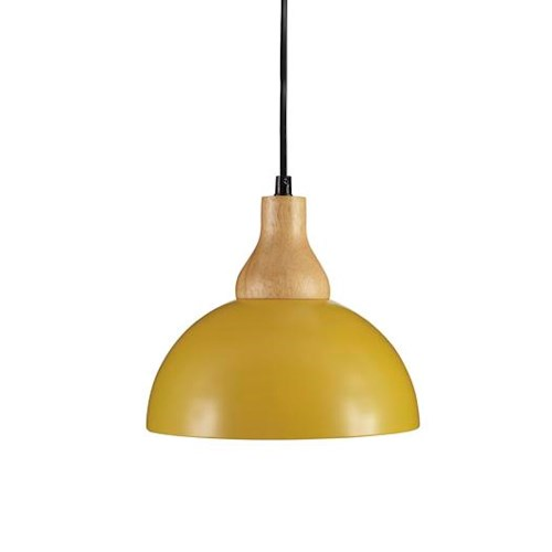 Signature Design by Ashley Pendant Lights Idania Yellow Metal Pendant Light