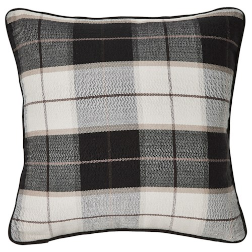 Signature Design by Ashley Pillows Raylan - Black Pillow