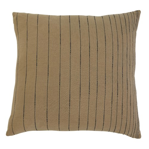 Signature Design by Ashley Pillows Stitched - Khaki Pillow