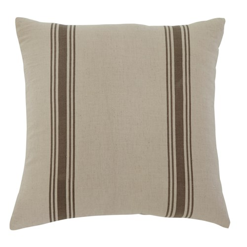 Signature Design by Ashley Pillows Striped - Natural Pillow