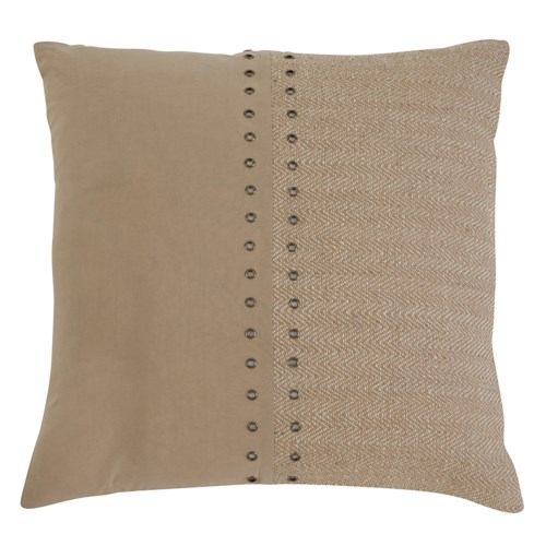 Signature Design by Ashley Pillows Textured - Natural Pillow