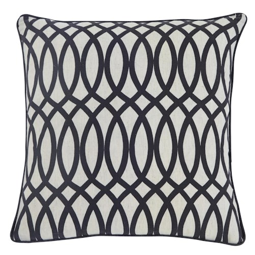 Signature Design by Ashley Pillows Gate - Black Pillow Cover
