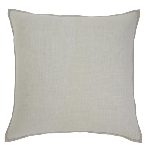 Signature Design by Ashley Pillows Solid - Ecru Pillow Cover