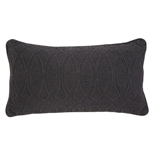 Signature Design by Ashley Pillows Solid - Ink Lumbar Pillow