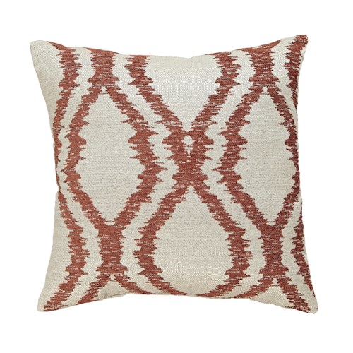 Signature Design by Ashley Pillows Estelle - Orange Pillow