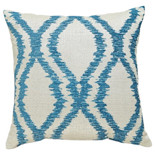 Signature Design by Ashley Pillows Estelle - Turquoise Pillow
