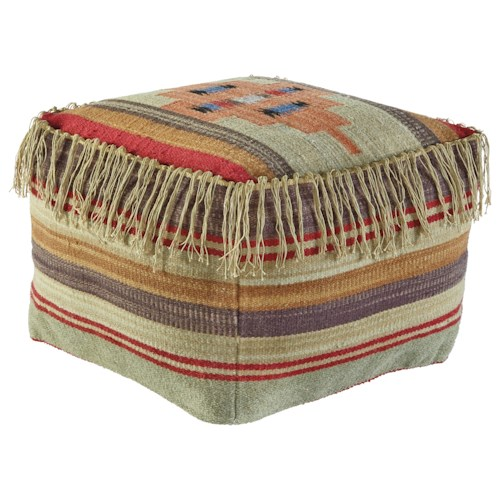 Signature Design by Ashley Poufs Bentlee - Multi Pouf
