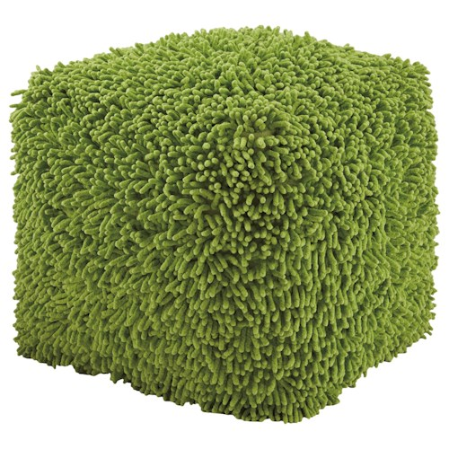 Signature Design by Ashley Poufs Taisce - Green Pouf