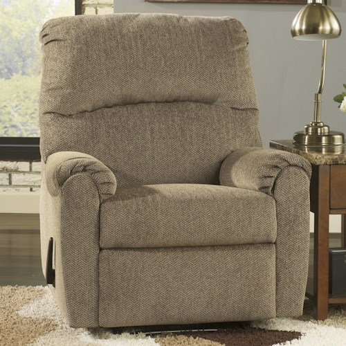 Signature Design by Ashley Pranit - Cork Contemporary Zero Wall Recliner