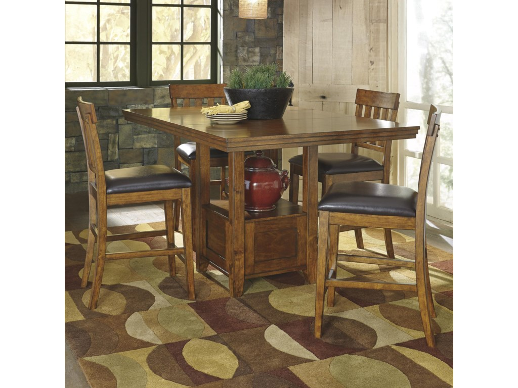 Rectangle Dining Room Tables Signature Design By Ashley Ralene Rectangular Dining Room Counter