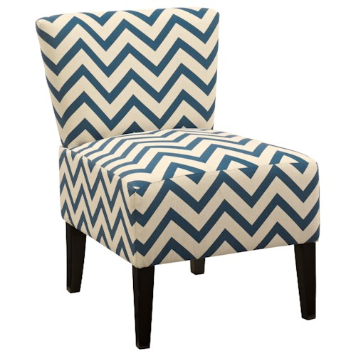 Signature Design by Ashley Ravity Slipper Style Accent Chair