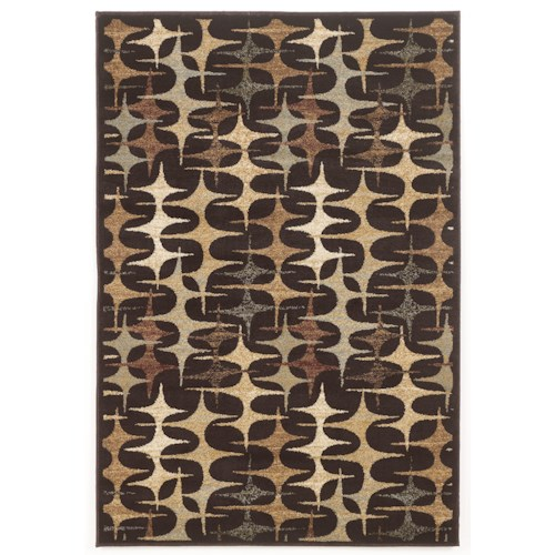 Signature Design by Ashley Contemporary Area Rugs Stratus - Multi Area Rug