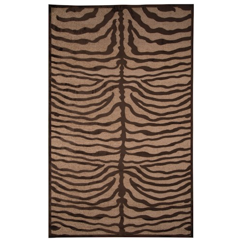 Signature Design by Ashley Contemporary Area Rugs Tafari Brown Medium Rug