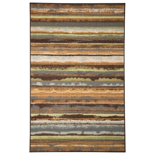 Signature Design by Ashley Contemporary Area Rugs Lian Blue Medium Rug
