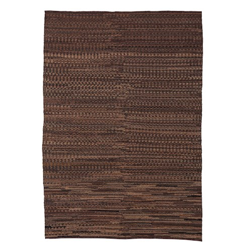Signature Design by Ashley Contemporary Area Rugs Braided - Brown Large Rug
