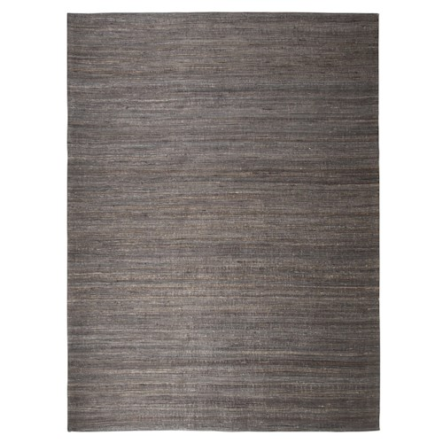 Signature Design by Ashley Contemporary Area Rugs Handwoven - Dark Gray Medium Rug