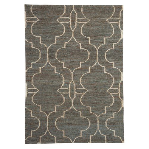 Signature Design by Ashley Contemporary Area Rugs Gillian Teal Large Rug
