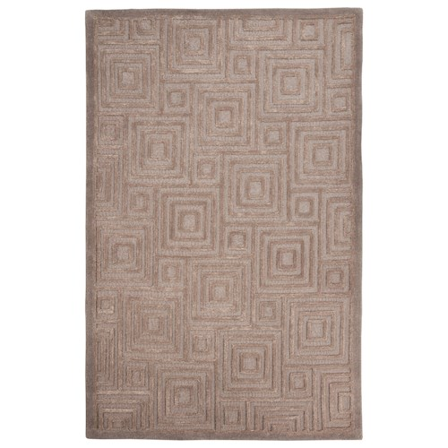 Signature Design by Ashley Contemporary Area Rugs Megabyte Gray Medium Rug