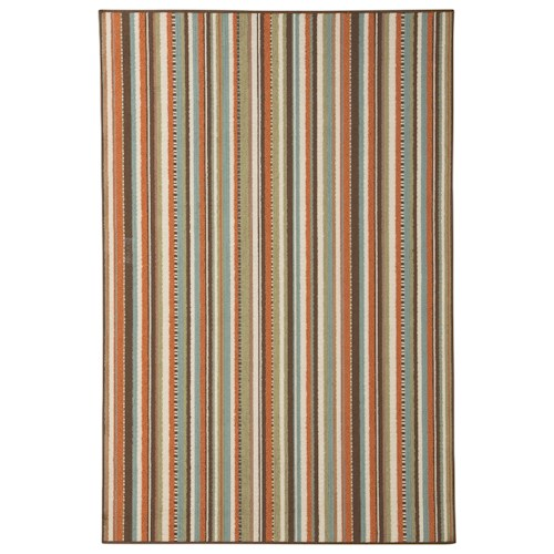 Signature Design by Ashley Contemporary Area Rugs Montie Multicolor Large Rug