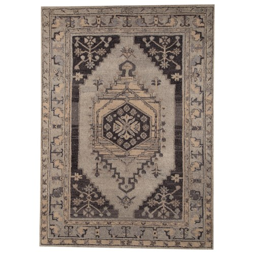 Signature Design by Ashley Traditional Classics Area Rugs Dallan Gray Large Rug