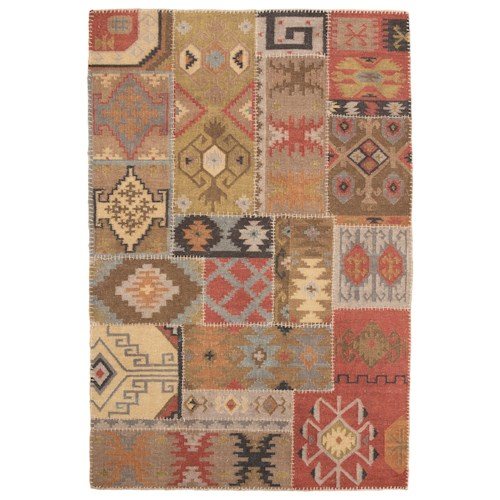 Signature Design by Ashley Traditional Classics Area Rugs Posey Multi Medium Rug