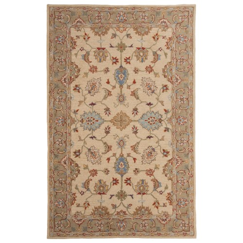 Signature Design by Ashley Traditional Classics Area Rugs Yarber Sahara Large Rug