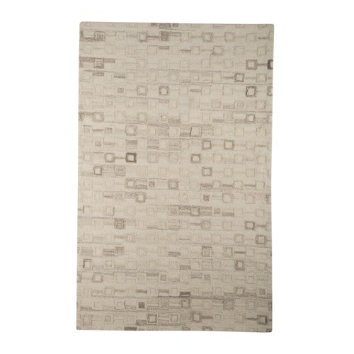 Signature Design by Ashley Transitional Area Rugs Newat Ivory Large Rug