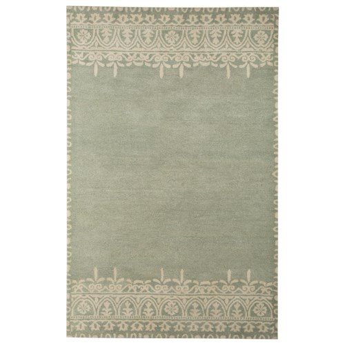 Signature Design by Ashley Transitional Area Rugs Brimly Green Medium Rug