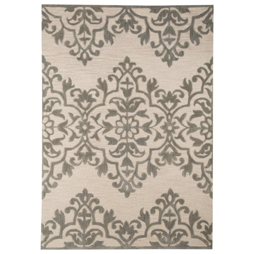 Signature Design by Ashley Transitional Area Rugs Bafferts Tan/Gray Large Rug