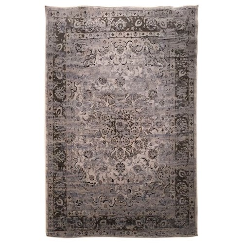 Signature Design by Ashley Transitional Area Rugs Kyan Blue/Ivory Medium Rug