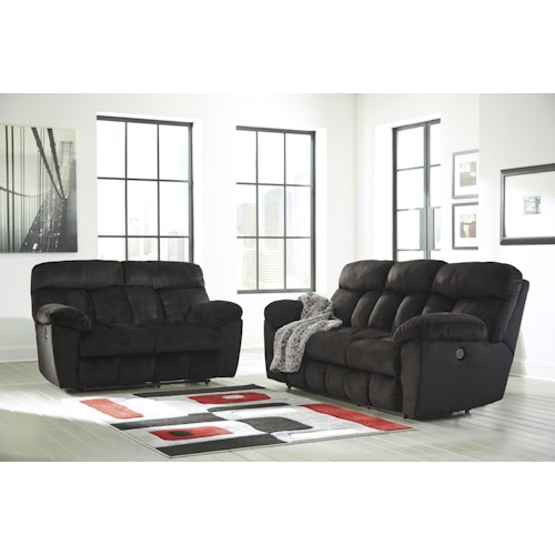 Signature Design by Ashley Saul Reclining Living Room Group