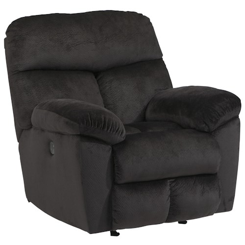 Signature Design by Ashley Saul Rocker Recliner with Pillow Arms