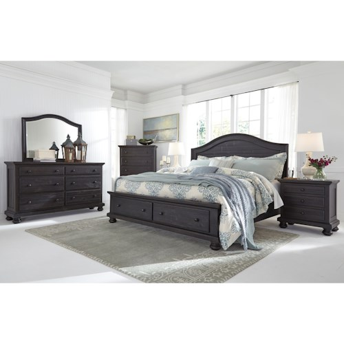 Signature Design by Ashley Sharlowe King Bedroom Group