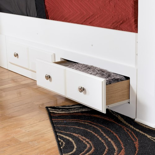 Signature Design by Ashley Weeki Queen/King Bed Storage Unit