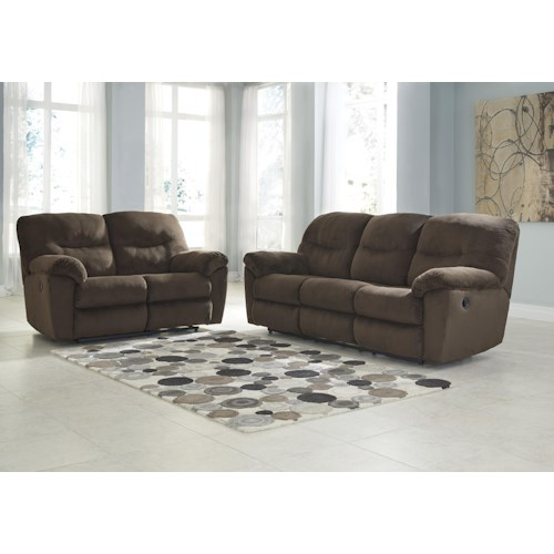 Signature Design by Ashley Slidell Reclining Living Room Group