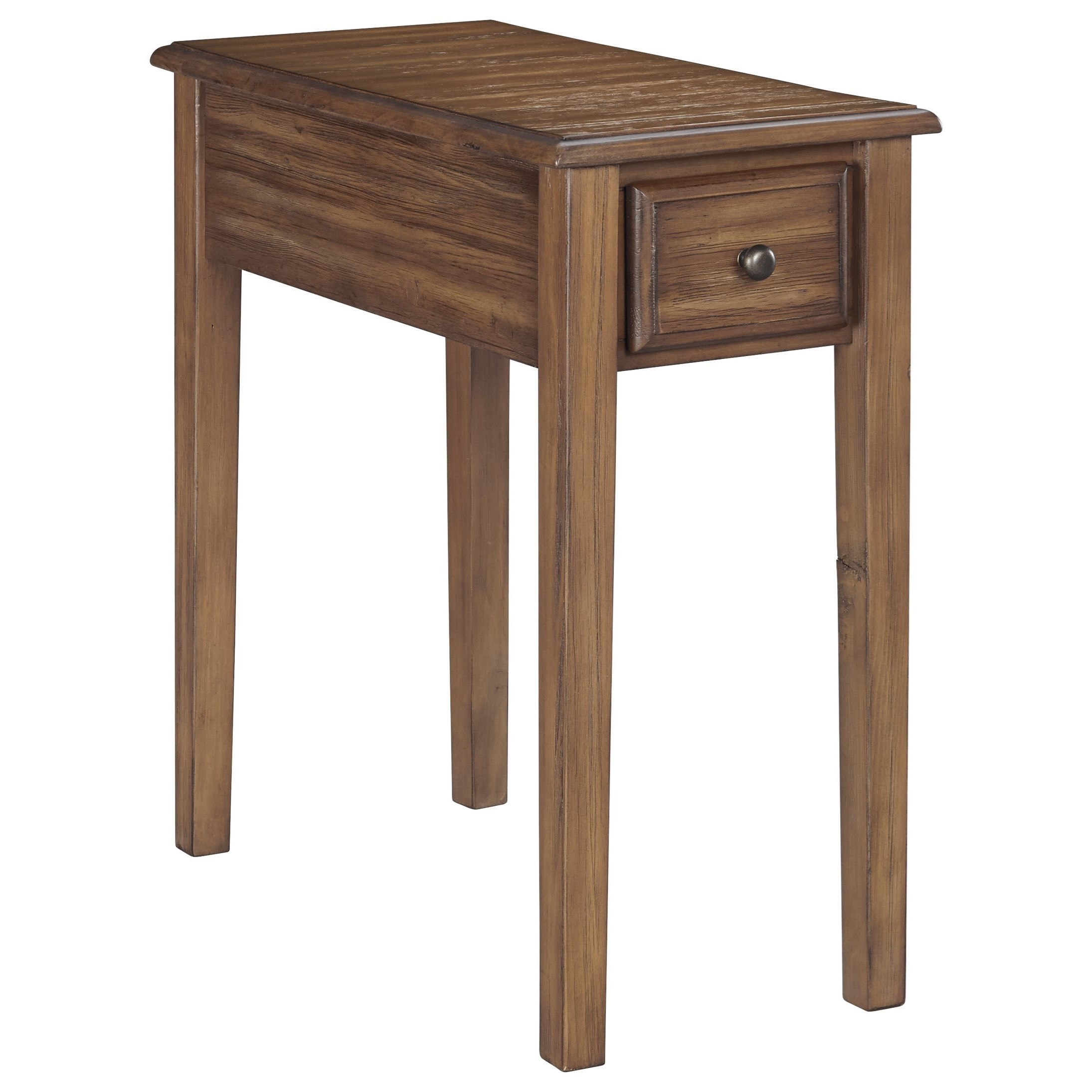 Signature Design By Ashley Solid Wood T900 663 Chair Side