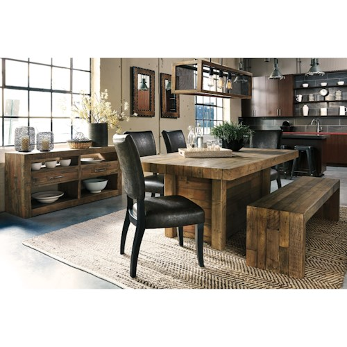 Signature Design By Ashley Sommerford Casual Dining Room Group Beck 39 S Furniture Casual
