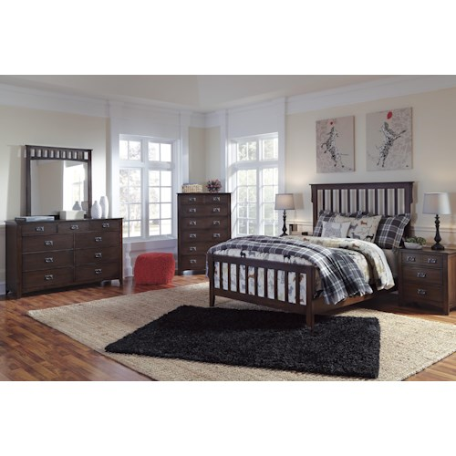Signature Design by Ashley Strenton Queen Bedroom Group